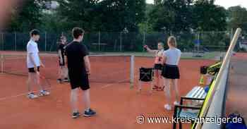 Probespiel beim Tennisclub Rotlipp Ortenberg - Kreis-Anzeiger