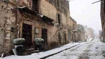 Así luce Real de Catorce, San Luis Potosí, tras nevada (FOTOS) - La Razon