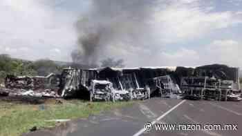 Mueren seis personas en accidente carretero en San Luis Potosi - La Razon