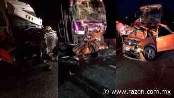 Choque en carretera de San Luis Potosi deja cinco muertos - La Razon