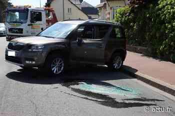 Deauville. Spectaculaire accident en plein cœur de la ville : une voiture se retourne - Normandie Actu
