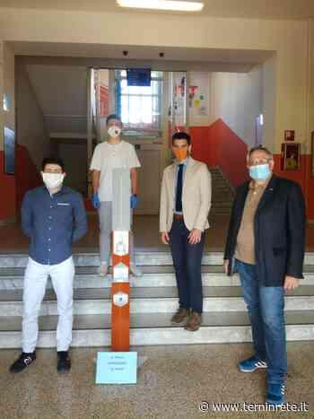Coronavirus: una raccolta fondi per donare colonnine igienizzanti alle scuole ternane - Terni in rete