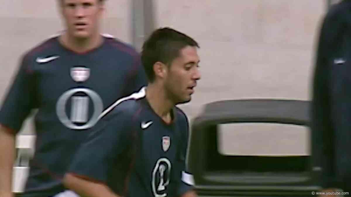 Clint Dempsey's first international goal - May 28, 2005 vs. England
