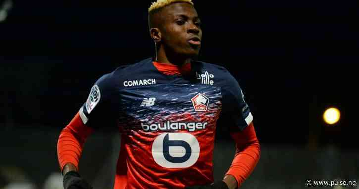 Nigerian striker Victor Osimhen makes Team of the Season in French Ligue 1
