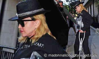Madonna visits London hospital for treatment
