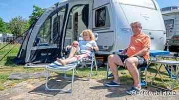 Wir wollten nach frankreich, jetzt sind wir in Kirkel - Corona-Camping - BILD