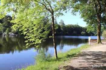 Savenay : on peut se promener et pêcher au lac de la Vallée Mabile - actu.fr