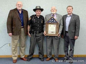 Sheriff Ellis returns from middle east - Ripley Bee