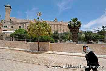Israel stops call to Muslim prayer at Hebron's Ibrahimi Mosque - Middle East Monitor