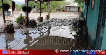 Aguacero inundo algunas casas en Tula Tamaulipas - Hoy Tamaulipas
