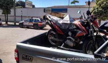 Moto furtada em Santana é localizada em Ipanema - Portal Caparaó