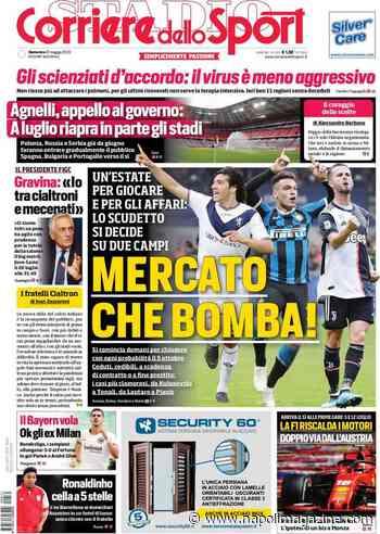"""RASSEGNA - Corriere dello Sport: """"Mercato, che bomba!"""", Tuttosport: """"Juve, c'è Perin per Chiesa"""" - Napoli Magazine"""