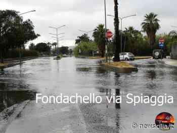Bomba d'acqua nel Catanese, strade come fiumi: traffico interdetto e segnalazioni di cittadini - NewSicilia