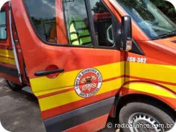 Duas pessoas ficam feridas em acidente entre bicicleta e moto em Ipira - Rádio Aliança 750khz