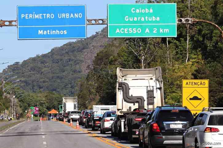 Coronavírus: Prefeitura de Matinhos instala barreira sanitária na entrada da cidade - G1