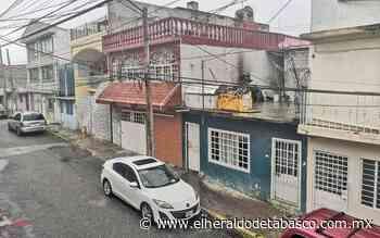 Lluvia deja sin luz a vecinos de la Guayabal - El Heraldo de Tabasco