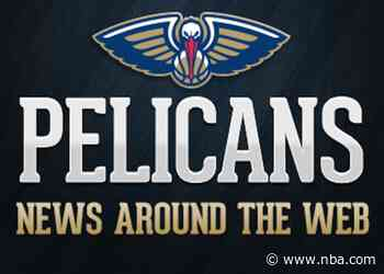 Pelicans News Around the Web (5-31-2020)