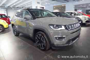Vendo Jeep Compass 1.4 MultiAir 2WD Limited nuova a Romano di Lombardia, Bergamo (codice 7429284) - Automoto.it - Automoto.it