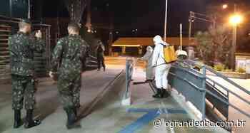 Rio Grande da Serra recebe apoio do Exército Brasileiro no combate ao coronavírus - O Grande ABC