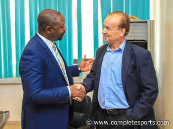 Sports Minister Dare:  Rohr Must Deliver