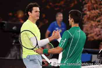 Novak Djokovic: Playing Milos Raonic in Montenegro would have been a great spectacle - Tennis World USA