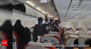 Vande Bharat Mission flight with 148 Indians departs from Riyadh