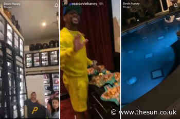 Inside Floyd Mayweather's £8m mansion with walk-in shoe wardrobe, two swimming pools and 20-car underground ga - The Sun