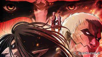 Attack on Titan: Chronicle, rilasciata data debutto del quarto film riassuntivo - questnews.it