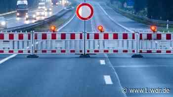 A3: Vollsperrung zwischen Kreuz Bonn/Siegburg und Lohmar ab 5. Juni - WDR Nachrichten