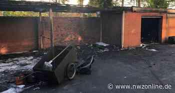 Brandeinsätze In Jever: Mülltonnen und eine Garage geraten in Flammen - Nordwest-Zeitung