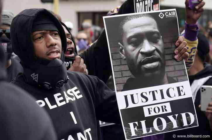 Nick Cannon, Machine Gun Kelly & More Musicians Join Protests Over George Floyd's Death
