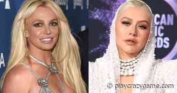 The photo of Britney Spears and Christina Aguilera in the that you would not get to recognize them   Big bang - Play Crazy Game