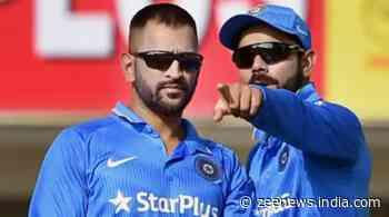 Virat Kohli credits Mahendra Singh Dhoni for grooming him to take up captaincy - Zee News