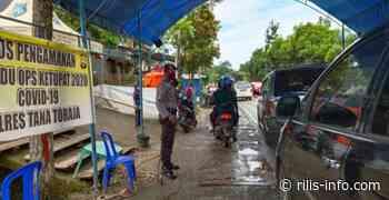 Pasca Terbitnya Surat Edaran Bupati Tana Toraja, Begini Proses Pencegahan Covid di Pos Sekat Rantelemo - http://rilis-info.com/