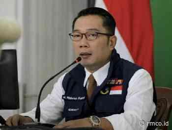 12 Daerah Masih Zona Kuning Ridwan Kamil Kirim Surat Pengajuan Perpanjang PSBB - Rakyat Merdeka RMCO.ID - The Political News Leader