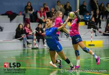 """Suzanne Papassin (AL Voiron) : """"Le handball et les gestes barrières ne font pas bon ménage"""" - LSD - LSD - Le sport dauphinois"""