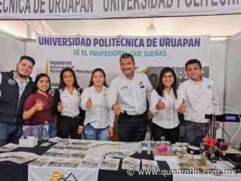Universidad Politécnica de Uruapan amplía fechas para nuevo ingreso - Quadratín - Quadratín Michoacán