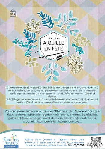 Salon Aiguille en fête Parking Rue du Roussillon Parking Rue du Roussillon 14 mars 2020 - Unidivers