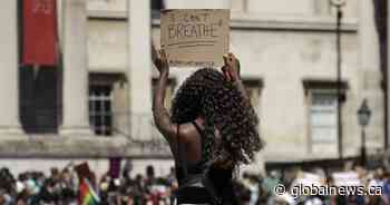 Thousands in London march in solidarity with George Floyd protests