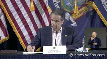 Watch live: Cuomo gives coronavirus update