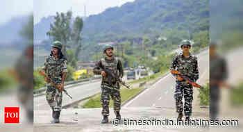 Security forces bust militant hideout in J&K's Kulgam