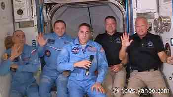 SpaceX Nasa Mission: Astronauts on historic mission enter space station