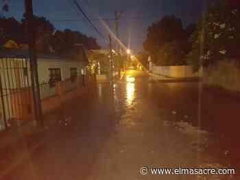 Intensas lluvias y tronadas en la ciudad de Dajabón - El Masacre