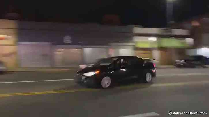 Police Seek Driver Who Drove Into Group Of Officers During Protest, Fled Scene