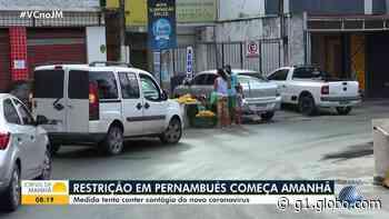 Medidas restritivas nos bairros: ACM Neto anuncia saída de Brotas, inclusão de Pernambués e permanência de Cosme de Farias - G1