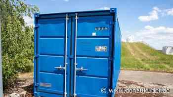 Manching: Der erster Container steht - Bis Ende Juni sollen für die Pump&Treat-Anlage am Flugplatz Manching zwei Brunnen gebohrt werden - donaukurier.de