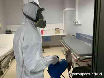 Puerto San Antonio realiza décima sanitización al interior del Hospital Claudio Vicuña - PortalPortuario