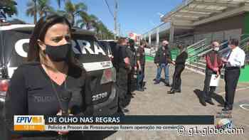 Operação da Polícia Civil e do Procon de Pirassununga fiscaliza preços abusivos no comércio - G1
