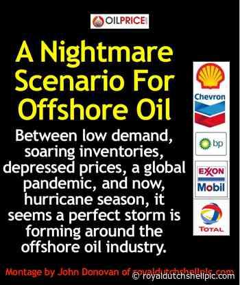 OilPrice.com: A Nightmare Scenario For Offshore Oil - Royal Dutch Shell plc .com