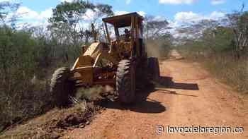Continúan labores de mantenimiento vial rural en Tesalia - Noticias